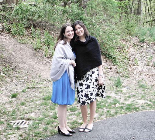 Christina and Wendi