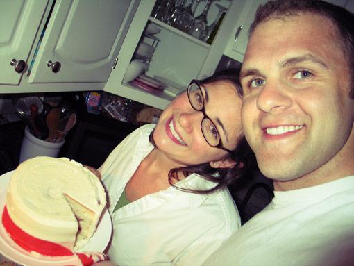 Wedding Cake…1 year later