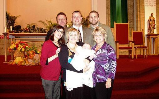 Peyton With Family