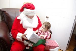Noah meets Santa